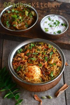This egg biryani is a great treat for egg lovers. It is flavorful, delicious and very easy to make. Apart from hard boiled eggs, I have added scrambled eggs also to this biryani, which makes it even more delicious. Veg Recipes, Indian Food Recipes, Chicken Recipes, Cooking Recipes, Ethnic Recipes, Recipies, Arabic Recipes, Paneer Recipes, Dishes Recipes