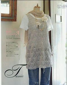 crochet tunic. pattern!.