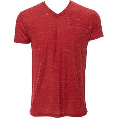 Simplex Apparel Caviar Mens V Tee ($23) ❤ liked on Polyvore featuring men's fashion, men's clothing, men's shirts, men's t-shirts, men, red, mens red shirt, mens t shirts, mens vneck shirts and mens red t shirt