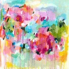 'Flying Faith' by Lesley Grainger Painting Print on Wrapped Canvas