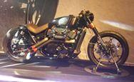 Cafe dragster revolutionx harley 750