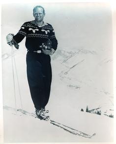 Warren Miller - ski and snowboarding filmmaker - United States