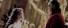 The Phantom and Christine + height difference : Phantom Of The Opera, Crown, Corona, Crowns, Crown Royal Bags