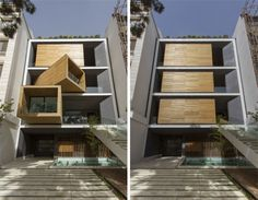 Transforming house!!!! And it's been built! rotating rooms sharifi-ha house