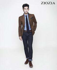 Kim Soo Hyun (김수현) for ZIOZIA (지오지아) 2012 F/W #1 #KimSooHyun #SooHyun #ZIOZIA
