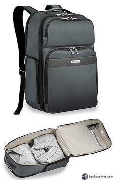 6fa8da899fe8 Spirit personal item backpack  Briggs   Riley Transcend Cargo travel  backpack Spirit Airlines Personal Item
