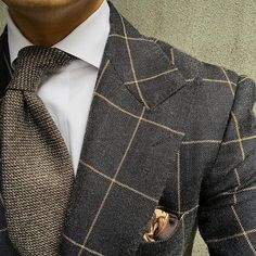 Winter grey & brown. #men #menstyle #menswear #mensfashion #napoli #sprezzatuza #mensclothing #bespoke #dandy #gentleman #mensaccessories #mensstyle #tailor #milano #fashion #menwithclass #italy #style #styleformen #wiwt #suit #dapper #menwithstyle #ootd #daily #moda #stile #elegance #classy #mnswr