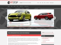 Have a look at the premium WordPress theme PitStop from WPWOW. If you are fond of cars and racing this stunning design is developed especially for you. Trace of the tyres in the background of slider makes the design more dynamic and brings you energy of a speed racing. Semi-transparent drop down menus adds lightness to the PitStop interface and bright red color along with gray and white highlights the main elements on your web page.