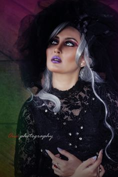 Modeling glamours gothic