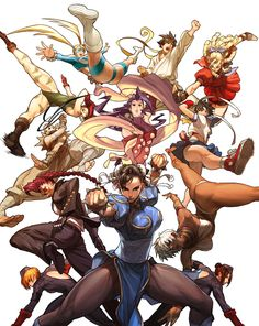 Who's the best female fighter in Street Fighter? Street Fighter Tribute Cover by UdonCrew http://udoncrew.deviantart.com/art/Street-Fighter-Tribute-Cover-83367522