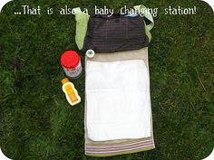 The baby changing station to go!