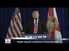 Donald Trump Delivers Scathing Response To Hillary Clinton, DNC at Press Conference 7/27/16 - YouTube