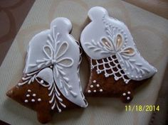 Decorated Bell Cookies | Pernicky