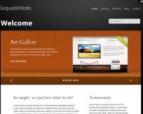 Exquisite Works WordPress Theme