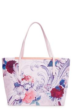 Ted Baker London 'Tashaar - Acanthus Scroll' Crosshatch Shopper available at #Nordstrom