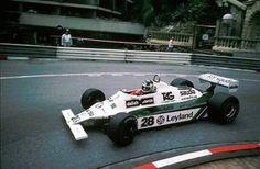 The Williams-Ford driven by Carlos Reutemann to win the 1980 Monaco Grand Prix
