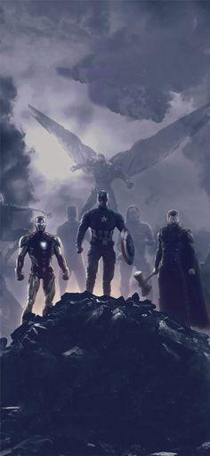 avengers endgame trinity 2019 Wallpaper - Leather Tutorial and Ideas Memes Marvel, Marvel Dc Comics, Marvel Funny, All Marvel Heroes, Marvel Logo, The Avengers, Univers Marvel, Avengers Wallpaper, Infinity War