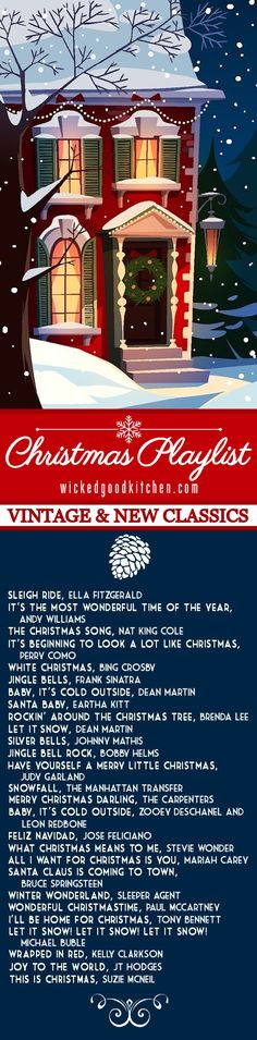 Christmas Playlist: Ultimate Holiday Classics ~ All the essential vintage classics and new classics you want to hear! PLUS: The #1 Christmas song everyone will LOVE, but most likely have not yet heard! It will become a NEW favorite. Included is our recipe for the World's Best Hot Cocoa that everyone will enjoy!