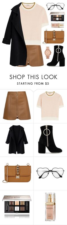"""AJENG"" by novalikarida ❤ liked on Polyvore featuring Miu Miu, Off-White, Valentino, Givenchy, Elizabeth Arden and FOSSIL"