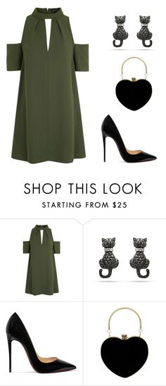 """Be strong"" by didiiidia on Polyvore featuring Topshop and Christian Louboutin"