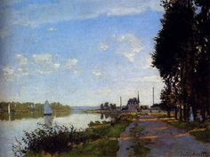 モネ 「アルジャントゥイユ」 1872