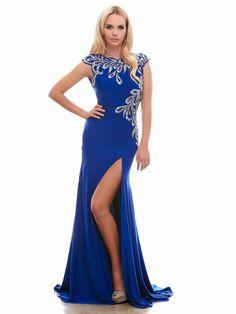 #longdress #bluedress / Suknia wieczorowa w pięknym odcieniu niebieskiego