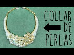✂ DIY collar de perlas fácil paso a paso /Nerea Iglesias. - YouTube