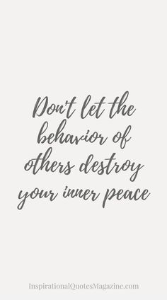 I try not too especially with everything I'm not the bad person i just try to do things different than before . But i will keep the peace and try not to get angry