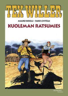 Tex Willer -suuralbumi: Kuoleman ratsumies