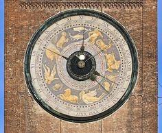 The astronomical clock on the Torrazzo in Cremona, Italy