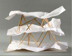 Yona Friedman, Cloud Pagoda, 2001