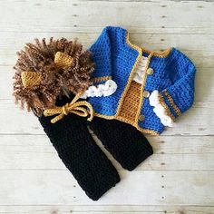 Crochet Beast Costume Beauty and the Beast Hat Bonnet Pants Shirt Shoes Infant Newborn Baby Photography Photo Prop Baby Shower Gift PresentAvailable from Newborn to 24 Months. Crochet Baby Costumes, Crochet Baby Pants, Crochet Baby Blanket Beginner, Crochet For Boys, Newborn Crochet, Crochet Beanie, Boy Crochet, Baby Set, Baby Kostüm