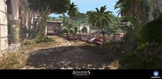 ArtStation - Assassin's Creed Black Flag IV - Multiplayer PortoBelo Map, Pierre FLEAU
