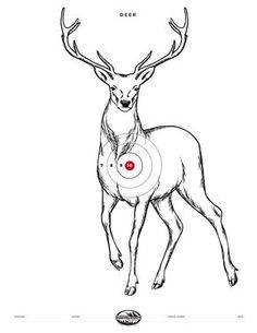 Pin on Free Printable Hunting Targets