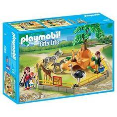 Playmobil Wild Animal Enclosure Playset