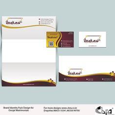 Oonjal Matrimonial Brand Identity Pack