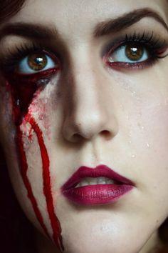 Bloody perfection   VISAGE   Pinterest   Makeup, Eye and Halloween ...