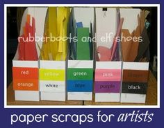 rubberboots and elf shoes: colour, art and organization