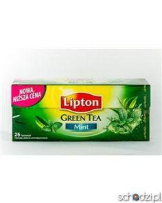 Lipton Green tea mint 25tb - Schodzi.pl