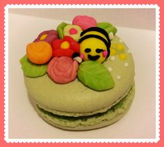 ⭐️https://www.facebook.com/timmymacaroons ⭐️Cute Macaron⭐by Love Macaroons⭐️馬卡龍 母親節 1蜜蜂 Bee Mother Day
