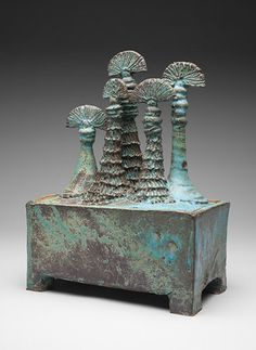 Rene Murray Ceramics: Sculpture on Boxes