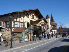 Helen, Ga is a quaint little German town near our favorite vacation spot of Blue Ridge, Ga.