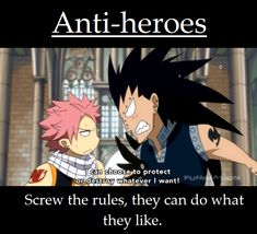 Gajeel and Natsu...Sadly I'm not surprised