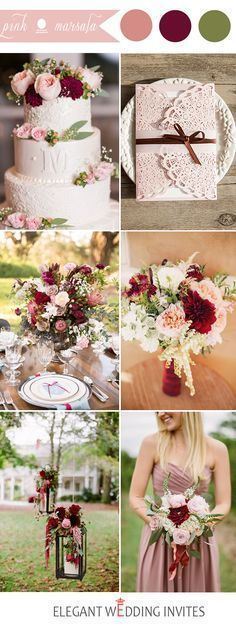 Choosing your wedding color is a big part of the wedding planning process. Pink is one of the perfect color for weddings not only because it is easy to match, b