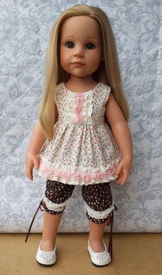 Летние костюмчики для девочек Готц / Одежда и обувь для кукол - своими руками и не только / Бэйбики. Куклы фото. Одежда для кукол