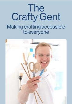 Making crafting accessible for everyone. Follow Mike for more DIY and crafting inspiration.