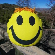 Baby pillow Smile face pillow Kids cushion Smiley pillow Cute Yellow Nursery decor Happy pillow Baby shower gift Emoji pillows Funny pillow