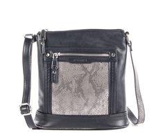 ROSE, CROSSBODY BAG METALLIC SNAKE By Joanel 88.99$ CAD Cross body bag metallic snake