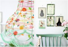 Such pretty spring colors.  I will have to try to make that cute lampshade with my SU! products.