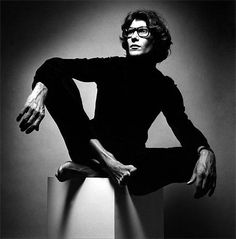 Yves Saint Laurent, Paris, 1962  Jeanloup Sieff